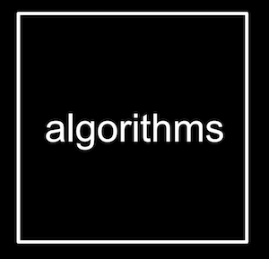 "box with word ""algorithms"""